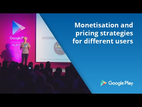 Monetisation and pricing strategies for different users