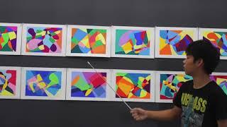 桑沢デザイン研究所同窓会主催/夏季デザイン講座 「色彩構成コース」   前期・2017