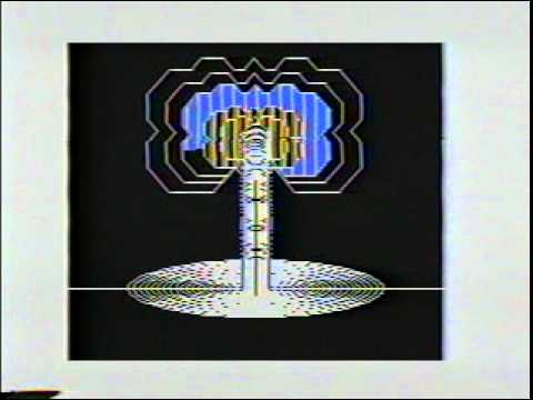psychedelic computer graphics with my TRS-80 Color Computer w/ Music from 1987