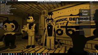 Bendy And The Ink Machine Song Gospel Of Dismay In ROBLOX