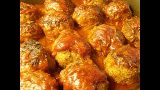Очень вкусные и нежные рыбные тефтельки в томатном соусе