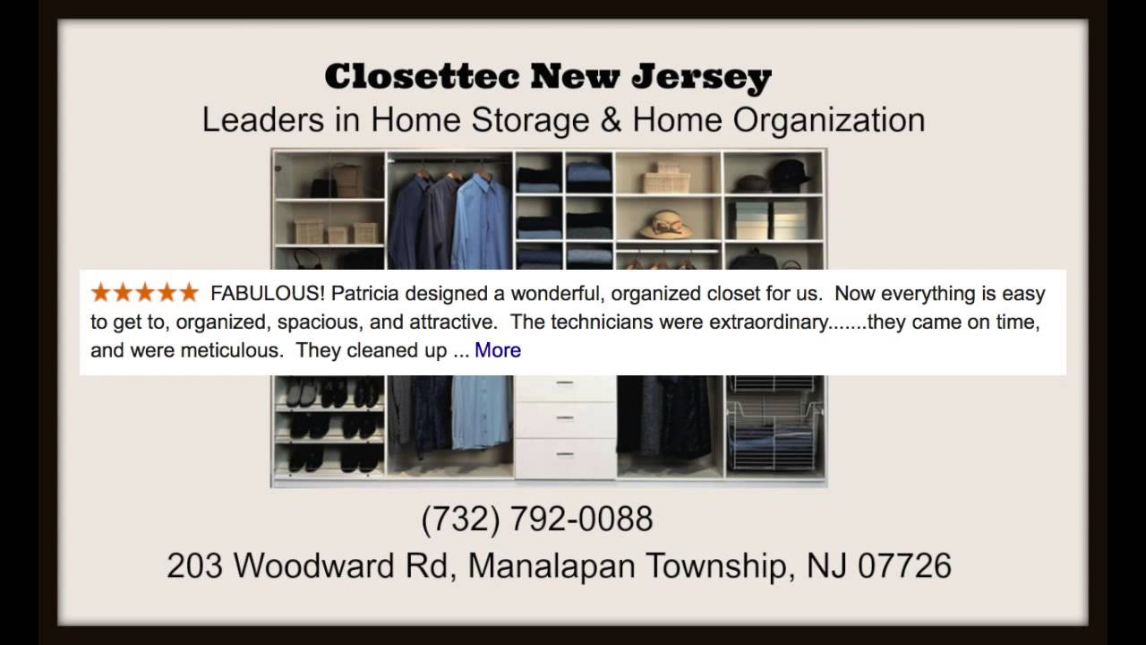 Walk In Closets NJ   Closettec   Manalapan New Jersey