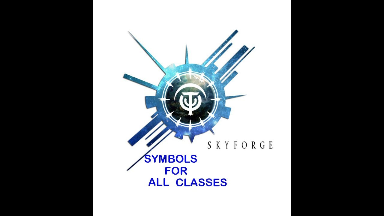 Xboxoneskyforge ideal symbols for all classes youtube xboxoneskyforge ideal symbols for all classes biocorpaavc Gallery
