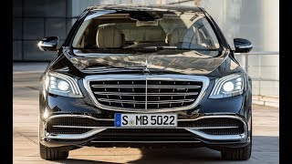 Mercedes Benz 2018 S Class S560 Sedan Walk Around Review
