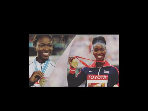 Tea Time with Olympic Gold Medalist Tianna Bartoletta