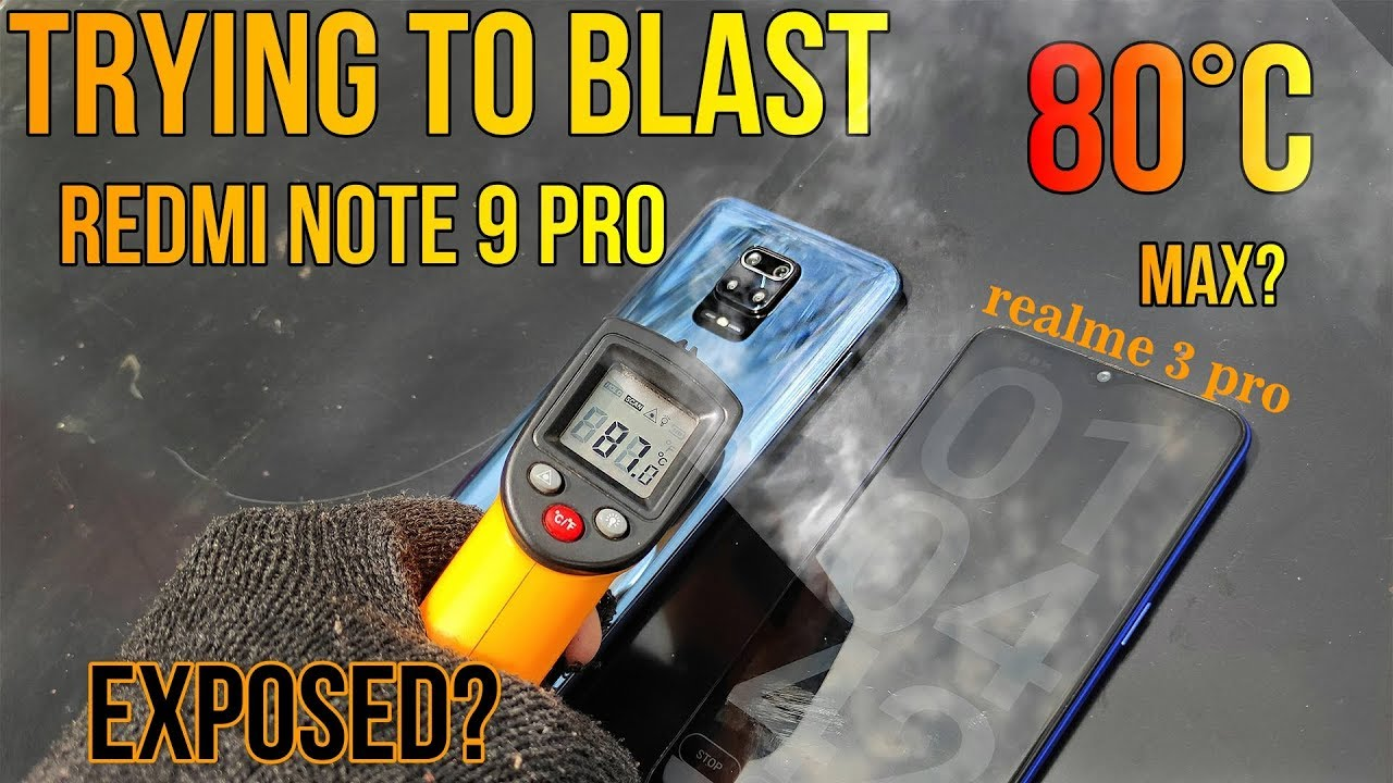 Download 80°C  Trying To Blast   Redmi  Note 9 Pro  #overheat#pubg#exposed?