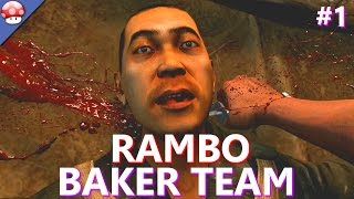 Rambo The Video Game: Baker Team Walkthrough Part 1 PC Gameplay (60fps/1080p) (Lets Play Baker Team)