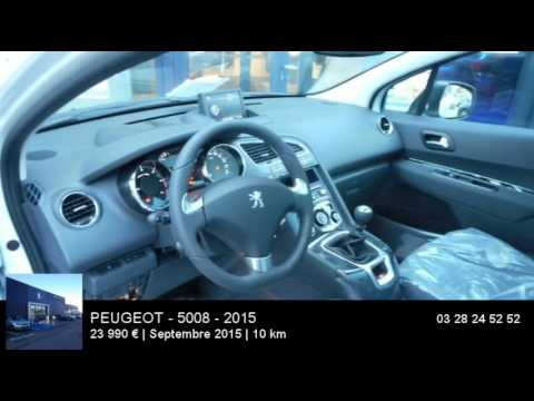 annonce occasion peugeot 5008 1 6 bluehdi 120ch allure s s 2015 youtube. Black Bedroom Furniture Sets. Home Design Ideas