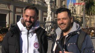 Το Olympiacos TV στο κέντρο της Σεβίλλης! / Olympiacos TV in the center of Seville!