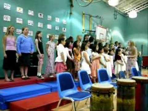 Tukwila Elementary School Choir - 04 Banuwa (3 Part Harmony)