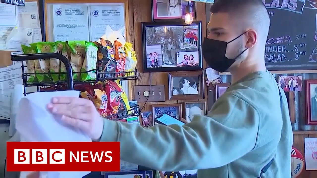 Texas mask mandate: 'I'm leaning towards staff still wearing masks'- BBC News