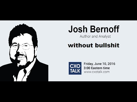 #175: Writing without Bullshit, with Josh Bernoff, Author an