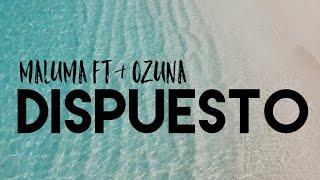 Maluma Ft Ozuna Dispuesto Letra Lyrics English Translation Youtube