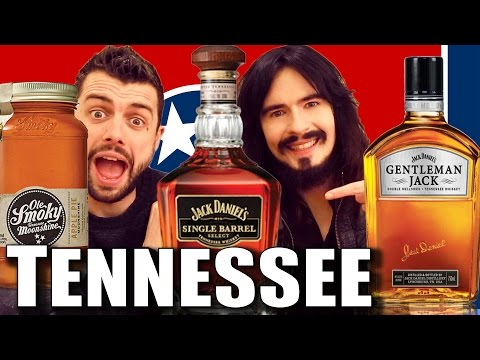 Irish People Taste Test 'TENNESSEE'  - Moonshine & Whiskey!!