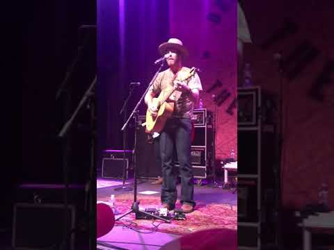 Drake White Singing Happy Place  In Louisville, KY.  Mercury Ballroom  May, 31st 2018