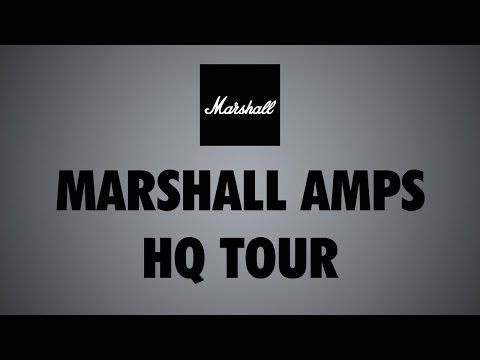 Marshall Amps Factory Tour