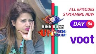 Bigg Boss S12 – Day 64 – Watch Unseen Undekha Clip Exclusively on Voot