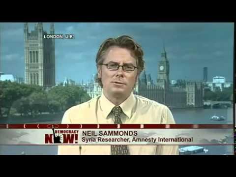 Neil Sammonds of Amnesty International on Deaths in Custody Amid Popular Protest in Syria