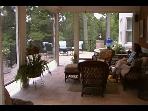 Automatic Patio Screens