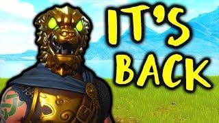 BATTLE HOUND SKIN IS BACK! NEW ITEM SHOP! 😍 Fortnite Battle Royale Gameplay!
