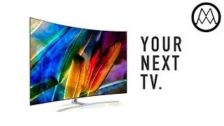 "World's Best TV? Samsung 75"" Curved QLED 4K Ultra HDR HDTV - Overview!"