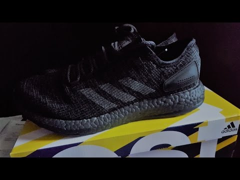 e2e59e152664d Adidas Pureboost LTD Tripleblack Review!! - YouTube