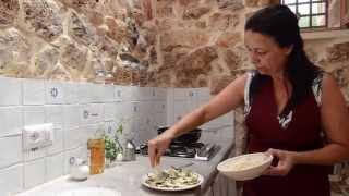 Lezioni di cucina salentina: melanzane marinate allaceto (eggplants gratin with vinegar)