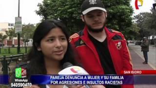 Video San Isidro: municipio denunciará a familia agresora por actos de racismo download MP3, 3GP, MP4, WEBM, AVI, FLV Februari 2018