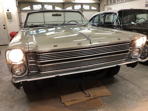 [QNCB_7524]  1966 Ford Galaxie 500 convertible restoration part 130 fixing and  installing wiring harness - YouTube | 1966 Ford Galaxie Wiring Harness |  | YouTube