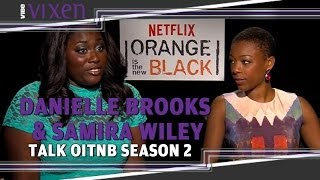 Danielle Brooks And Samira Wiley Talk OITNB Season 2