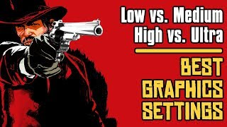 Red Dead Redemption 2 BEST GRAPHICS SETTINGS for 60FPS?