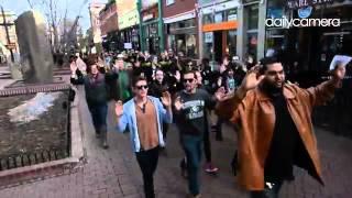 Video: #ferguson protest march in #boulder #colorado