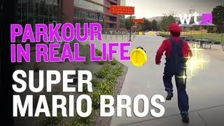 Super Mario Bros Do Live Action Parkour | What's Trending Now