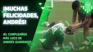 El cumpleaños más loco de Andrés Guardado