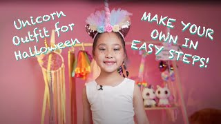 Make your own Unicorn Outfit for HALLOWEEN [Theodora's Wardrobe Episode 2]