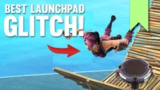 LAUNCHPAD LEVITATING GLITCH! | FORTNITE FUNNY FAILS AND BEST MOMENTS #055 (DAILY MOMENTS)