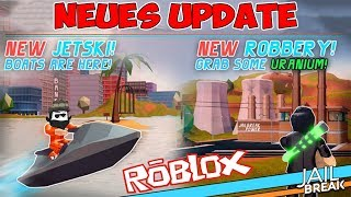 Jailbreak new update new place to rob | Roblox