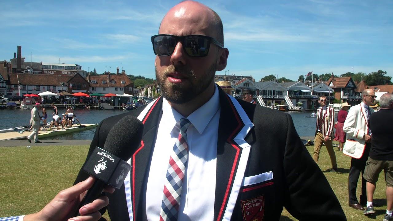 f4d82021d699e5 Northeastern Men's Rowing | 2019 Henley Royal Regatta | Day 2 Coach  Interview