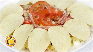 "Салат ""Тамада"", Интересно и Очень Вкусно | Salad ""Tamada"""