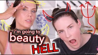 TATI AND SIMPLYNAILGIRL COLLAB IN TERRIBLE MAKEUP LESSON FOR VIEW$$$$