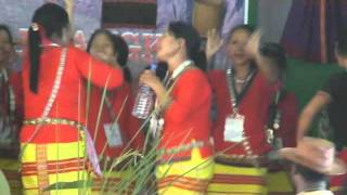 NEPALI  SONG DANCE  BY  ADI  TRIBE WOMEN   OF  ARUNACHAL  , INDIA