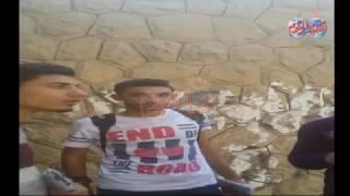 أخبار اليوم | تجار السوق السوداء من أمام بوابات ستاد القاهرة التذكرة بـ 100 جنية