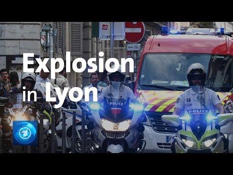 Lyon: Explosion in Fußgängerzone