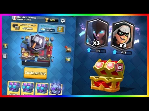 Clash Royale COFFRE SUPREME PACK OPENING DOUBLE LEGENDAIRE