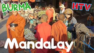 Mandalay Burma along the Irrawaddy River