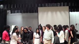 EXODUS 12/8/2013, XADO Dartmouth College Acapella Performance