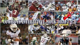 COWBOYS INTERACTIVE MOCK DRAFT 2.0: You Help Decide Our 2018 Draft & Then WIll See Them In Action!!!