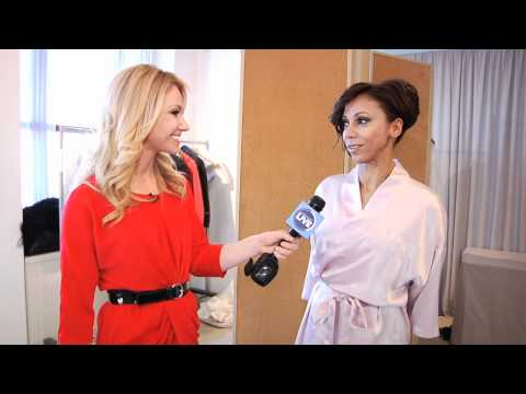 NY Live: Raina Seitel covers Holly Robinson Peete & Rodney Peete ceremony with Colin Cowie.