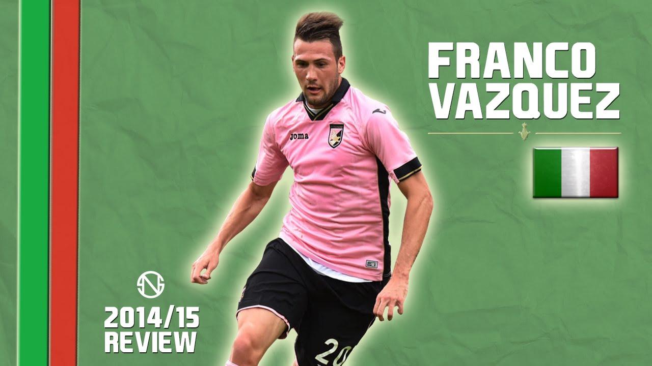 Franco Vazquez Goals Skills Assists Palermo 2014