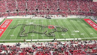 The Ohio State Marching Band Nov. 22 halftime show: Viva Las Vegas